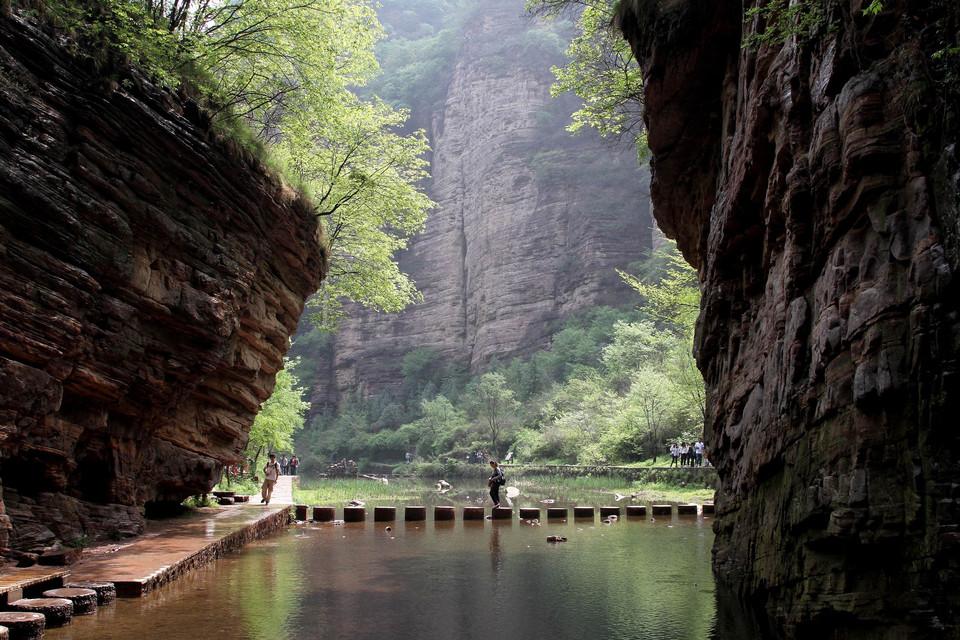 洛阳龙潭大峡谷旅游