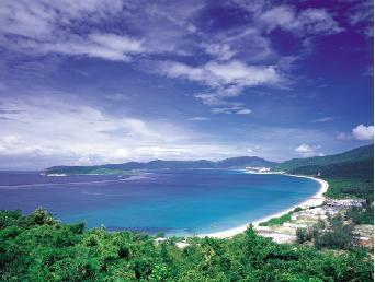 华南 海南 三亚 亚龙湾  景点名称:亚龙湾
