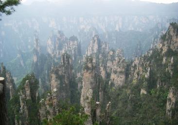 大峡谷景区栗树垭和