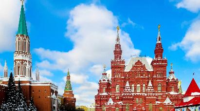 【梦幻极光】<俄罗斯三城9天:莫斯科+摩尔曼斯克+圣彼得堡之旅>深圳直飞