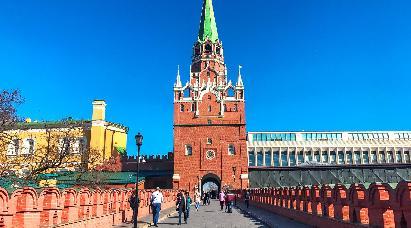 【春节 精致小团】<俄罗斯双首都+摩尔曼斯克8天 > 深圳直飞,全程五飞