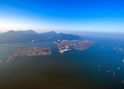 香港国际机场封面图