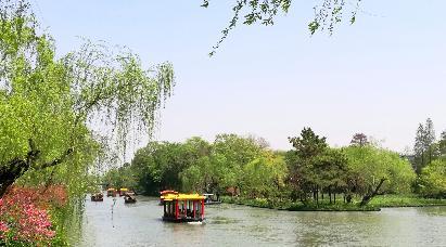 【独家产品】< 空调旅游专列9天:上海、浙江、无锡、江苏、安徽、江西五省  烟花三月下江南>