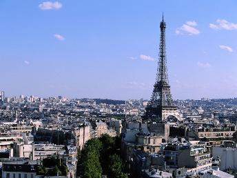 埃菲尔铁塔 - 巴黎景点