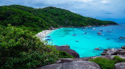【深度 绝美天堂斯米兰】<泰国普吉岛快艇斯米兰群岛五天品质游>