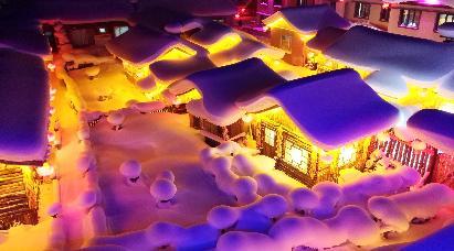 【A2 冰雪之冠·大美雪乡】<哈尔滨·亚布力·雪乡·五星温泉·威虎寨·冰雪河谷·雪地飞龙>双飞5天团