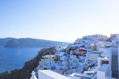 【轻奢游】<希腊+圣托尼里岛+扎金索斯岛9-10天游>香港往返  全程四星
