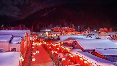 【冰雪之冠 大美雪乡】<哈尔滨·亚布力·中国雪乡·东北威虎寨·冰河雪谷·牧雪山村>双飞5天团